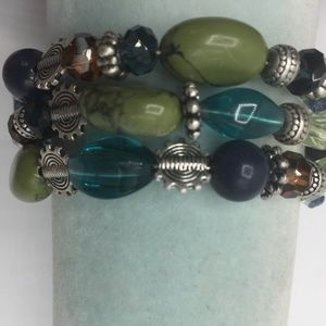 3 for $30 Premier Designs Beaded Wrap Bracelet